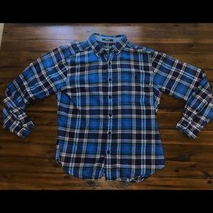 Authentic Woolrich Flannel Button Down